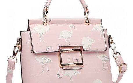 Dámská růžová kabelka Jaslin 1814