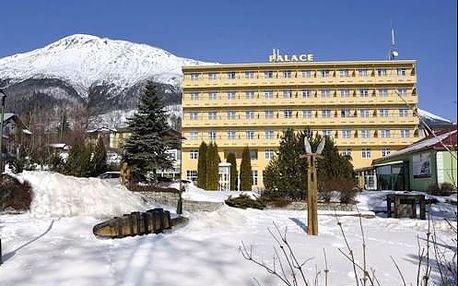 Pobyt KRÁSY TATER v hotelu Palace *** v lázních Nový Smokovec