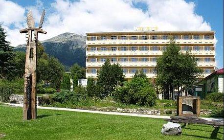 Pobyt TATRY v létě nebo KRÁSY Tater v hotelu Palace *** v lázních Nový Smokovec