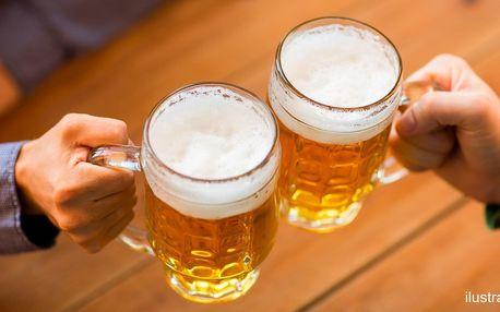 V partě na pivo: 5x velké nefiltrované Krušovice
