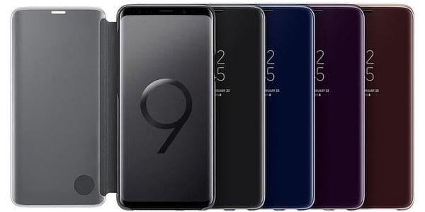 Pouzdro na mobil flipové Samsung Clear View pro Galaxy S9+ černé (EF-ZG965CBEGWW)3