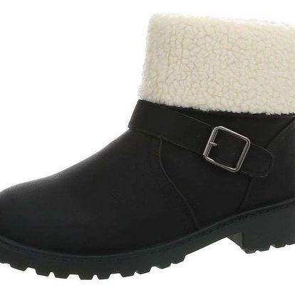 Dámská zimní kotníková obuv