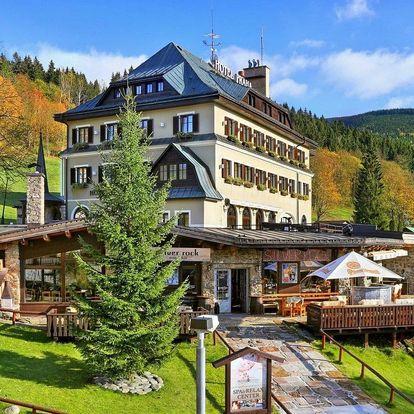 Jaro v Hotelu Praha **** ve Špindlu s wellness a polopenzí