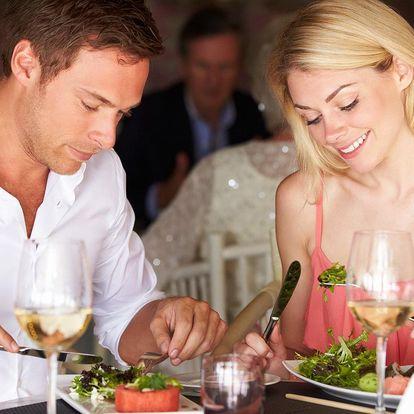 Valentýnské menu s panenkou pro dva