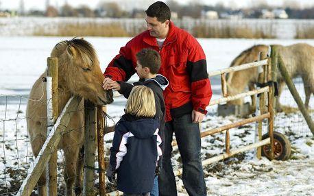 Jarní prázdniny v Pensionu Jízdárna v Beskydech s vířivkou, vyjížďkou na koni a dětmi zdarma