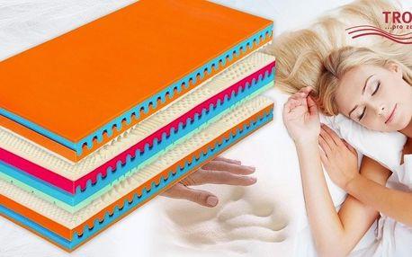 Výběr matrací Visco s vrstvou paměťové pěny