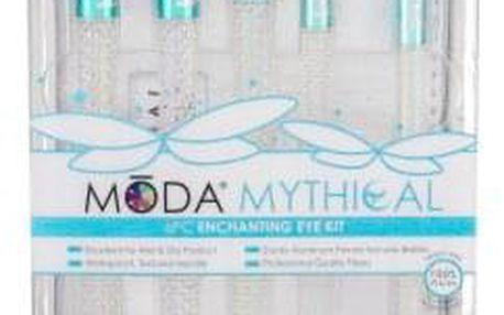 Royal & Langnickel Moda Mythical Enchanting Eye dárková kazeta pro ženy štětec na oční stíny 1 ks + štětec na kouřové líčení 1 ks + štětec na oční kontury 1 ks + štětec na linku 1 ks + vějířovitý štětec 1 ks + taštička
