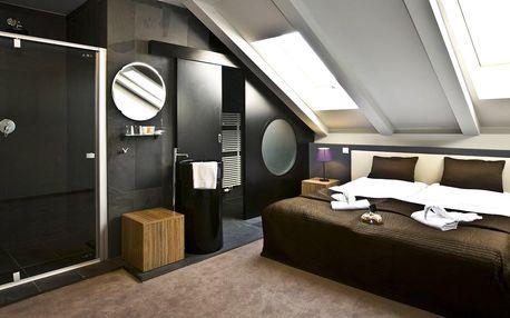 Elegantní 4* hotel v centru Prahy a snídaně