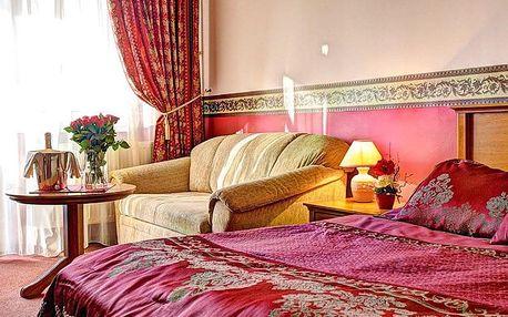 Lázeňské Piešťany v nádherném 4* hotelu se vstupem do wellness, fitness a s procedurami + polopenze