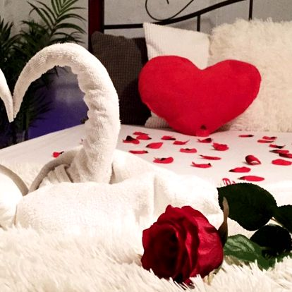 Valentýnské uvolnění a romantika ve Wellnessu