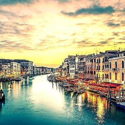 Romantické Benátky pro 2 osoby na 3 nebo 4 dny se snídaní.