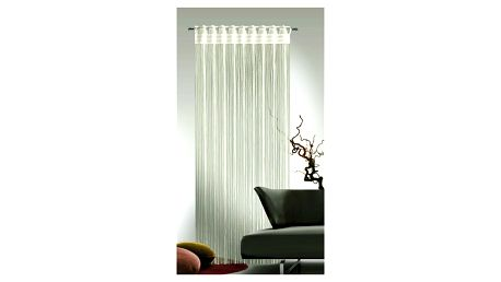 Albani Provázková záclona Cord krémová, 90 x 245 cm