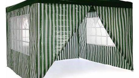 Garthen 40731 Zahradní párty stan 3 x 3 m - tmavě zelený