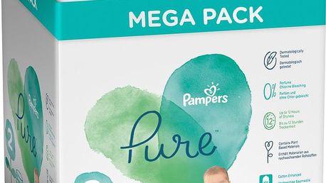 PAMPERS Pure Protection S2, 117 ks (4-8 kg) – jednorázové pleny