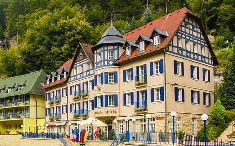 České Švýcarsko s degustací vín + pohoštění