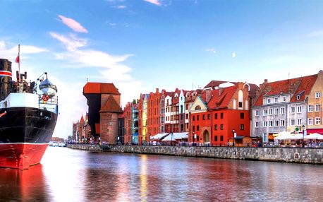 Květnový výlet do Gdaňsku, lázní Sopoty a Gdyně