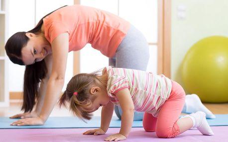 Kurz relaxačního cvičení rodičů s dětmi