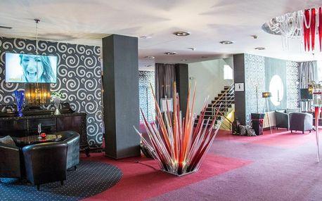 Romantický Parkhotel Morris**** Nový Bor s wellness programem a polopenzí