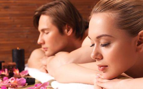 Hodinová párová masáž dle výběru ze 4 druhů