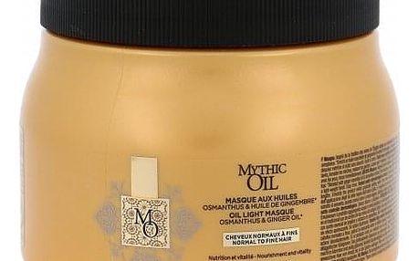 L´Oréal Professionnel Mythic Oil 500 ml maska pro normální a jemné vlasy pro ženy