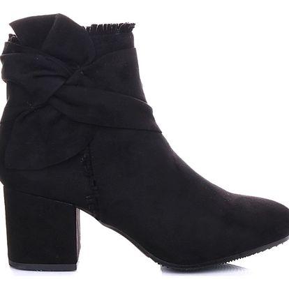 Ctogo GOGO Kotníkové boty na podpatku 6230-1B Velikost: 37 (24 cm)