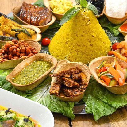 Slavnostní indonéské speciality pro 3–4 osoby