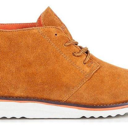 CNB Kožené dámské boty WS1272OR Velikost: 39 (25 cm)
