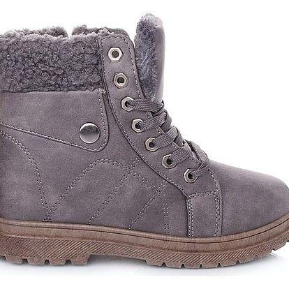 Cabin Dámské zimní boty šedé RA1010G Velikost: 37