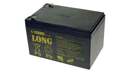 Avacom Long 12V 12Ah F2 černý (PBLO-12V012-F2A)