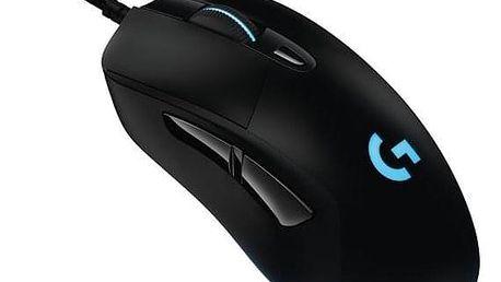 Logitech Gaming G403 Prodigy černá / optická / 6 tlačítek / 12000dpi (910-004824)