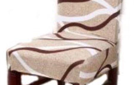 Potah na židli motiv vlny