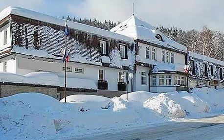 Wellness pobyt s polopenzí pro dvě osoby v Hotelu Prom *** v obklopení ski areálů.