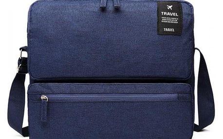 Dámská námořnicky modrá cestovní taška Lexie 6851
