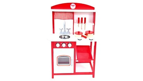 BINO Dětská kuchyňka s příslušenstvím (5 ks)