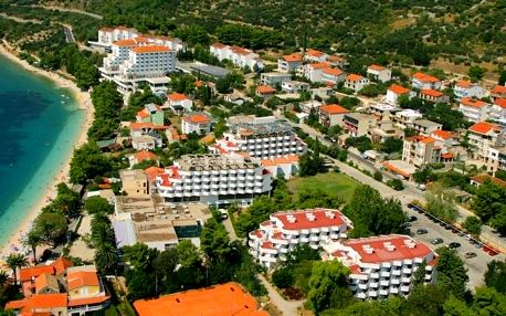 Chorvatsko - Makarská riviéra na 8 dnů, polopenze