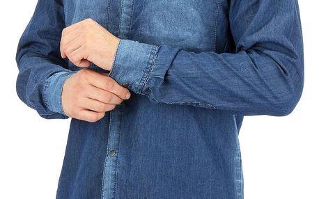 Pánská jeansová košile Eight2Nine
