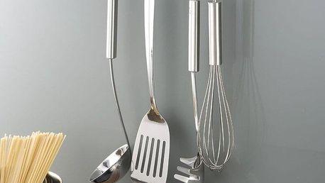 Nástěnný věšák TurboFix na kuchyňské náčiní + 6 háčků v sadě, WENKO