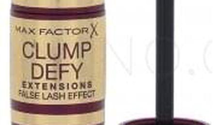 Max Factor Clump Defy Extensions 13,1 ml prodlužující řasenka pro objem řas pro ženy Black