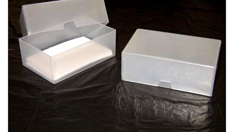 Plastová krabička na vizitky - 5 kusů - dodání do 2 dnů