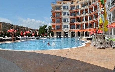 Bulharsko - Slunečné Pobřeží na 8 dní, all inclusive s dopravou letecky z Prahy, 500 m od pláže