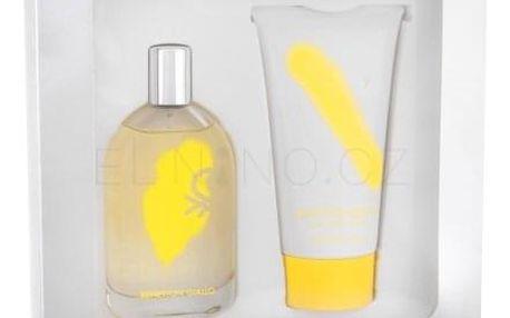 Benetton Giallo dárková kazeta pro ženy toaletní voda 100 ml + sprchový gel 150 ml