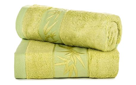 Jahu dárková sada ručníků bambus Hanoi zelená