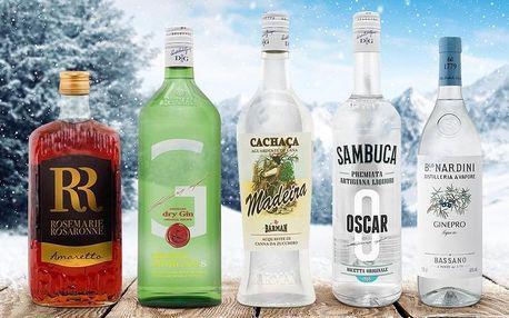 Likéry, gin i pálenka z Itálie i z Brazílie