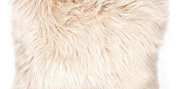 Bo-ma trading Povlak na polštářek Claire béžová, 45 x 45 cm