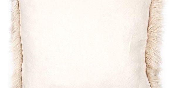 Bo-ma trading Povlak na polštářek Claire béžová, 45 x 45 cm2