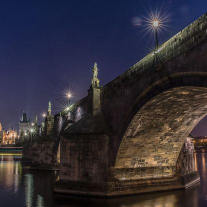 Kurz nočního focení pro skupinu v Praze