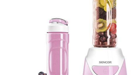 Sencor SBL 3208RS smoothie mixér, růžová