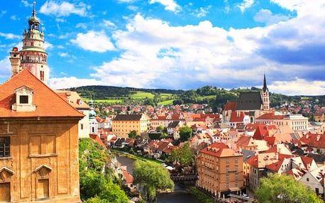 Pobyt v jižních Čechách - památky a víno