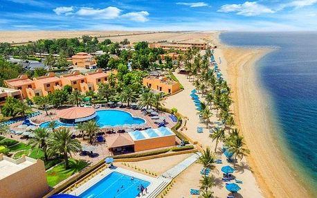 Spojené arabské emiráty - Ras Al Khaimah na 8 dní, all inclusive s dopravou letecky z Prahy, přímo na pláži