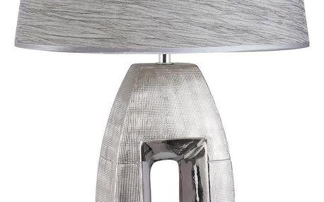 Rabalux 4388 Leah stolní lampa, stříbrná